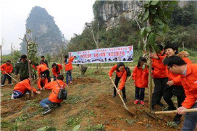 保护白头叶猴志愿服务项目