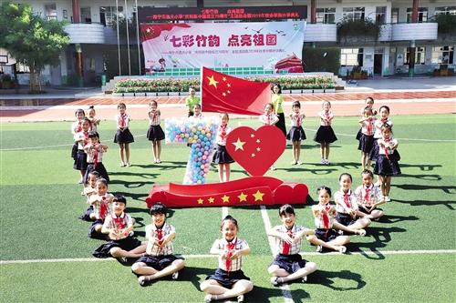 南宁市各中小学开学仪式奏响爱国主义主旋律