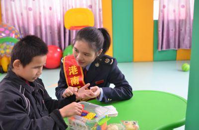 贵港市港南区国家税务局志愿者服务队